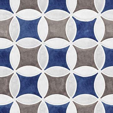 Sphinx Tiles Spectrum Holland Blue keramische tegel 15x15 cm, prijs per stuk, decor