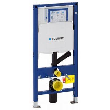 Geberit UP320 Duofix DuoFresh inbouwreservoir met aansluiting voor externe geurafzuiging 112-132x50x9-13,5 cm