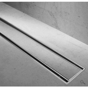 Easy Drain Compact TAF verlaagd rooster voor douchegoot 80 cm voor tegeldikte 3-13 mm, rvs