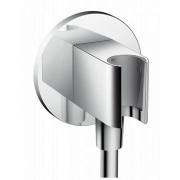 Hansgrohe Fixfit Porter S handdouchehouder inclusief muuraansluitbocht, chroom