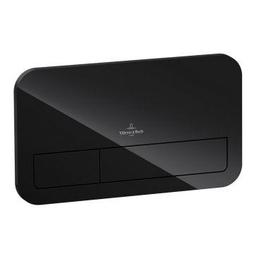 Villeroy & Boch ViConnect M200 bedieningspaneel, glossy black