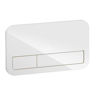 Villeroy & Boch ViConnect M200 bedieningspaneel, glossy white
