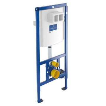 Villeroy & Boch ViConnect inbouwreservoir 112x52,5x13-20,5 cm