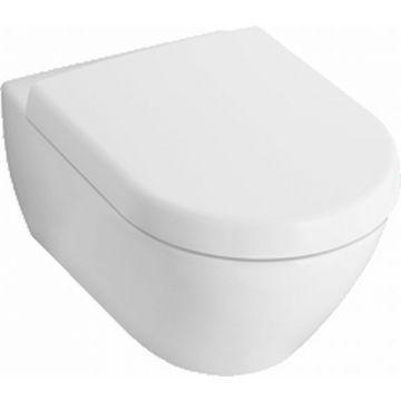 Villeroy & Boch Subway 2.0 hangend toilet diepspoel compact CeramicPlus Directflush AQUAREDUCT®, wit