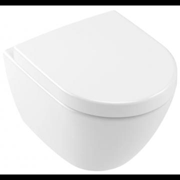Villeroy & Boch Subway 2.0 hangend toilet diepspoel compact Directflush AQUAREDUCT®, wit