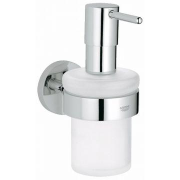 GROHE Essentials zeepdispenser met houder, chroom