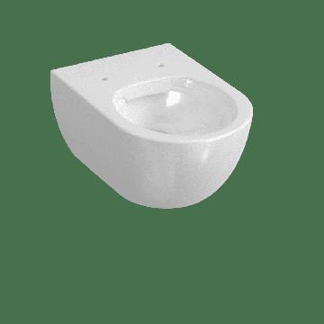 Sub 010 hangend toilet spoelrandloos 35 x 54 cm, wit