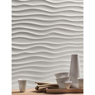 Atlas Concorde 3D Wall Design keramische decortegel dune 40x80 cm, white