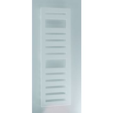 Zehnder Metropolitan Spa radiator 600x1750 mm as=onderzijde 889 W, wit (RAL 9016)