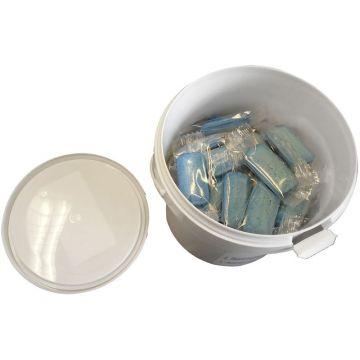 Wisa FrescoBlue toiletblokjes in emmer à 52 stuks, blauw