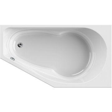 Wisa Tirano bad rechts 160x90 cm, wit