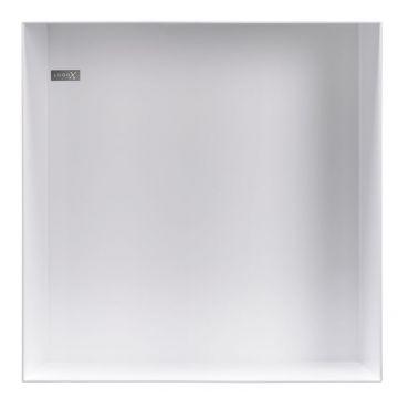 LoooX Colour BoX in-/opbouwnis 30 x 30 x 10 cm, wit
