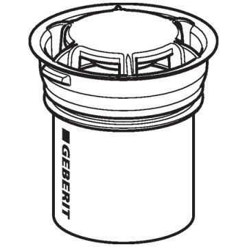 Geberit urinoirsifon hybride, wit