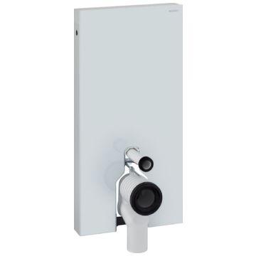 Geberit Monolith sanitairmodule voor staand toilet 101x50x10,6 cm, wit