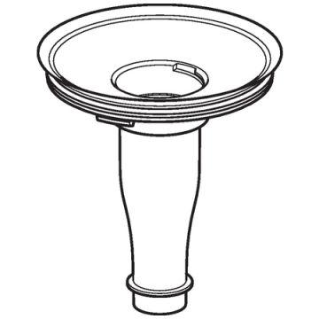 Geberit adapter voor hybride sifon