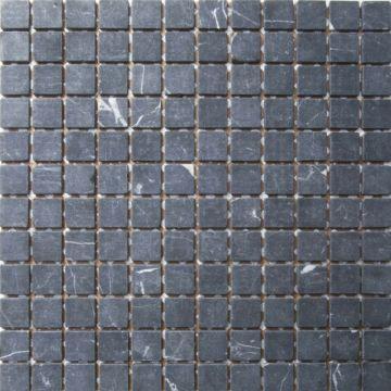 Sub 1729 keramische tegelmat 30,5x30,5 cm, blok 2,3x2,3 cm, prijs per stuk, nero marquina