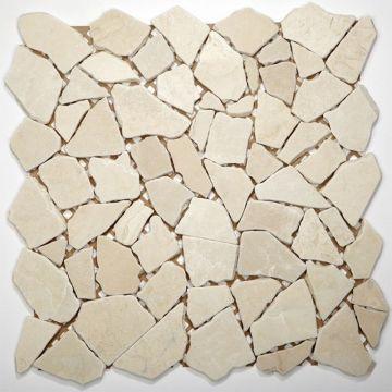 Sub 1729 keramische tegelmat 30,5x30,5 cm, prijs per stuk, biancone