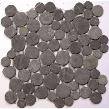 Sub 1729 keramische tegelmat vrij 30x30 cm, prijs per stuk, india zwart