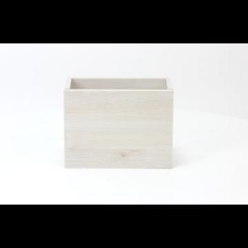 Sub 066 fonteinonderkast 36x18 cm deur universeel, essen wit