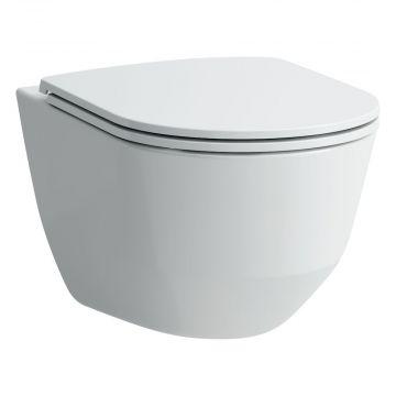 Laufen PRO slimseat toiletzitting met softclose en quickrelease 4,5 x 37 x 44,5 cm, wit