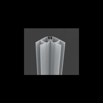 Sub magnetische strip 6 mm 200 cm, transparant