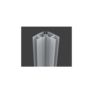 Sub magnetische strip 8 mm 200 cm, transparant