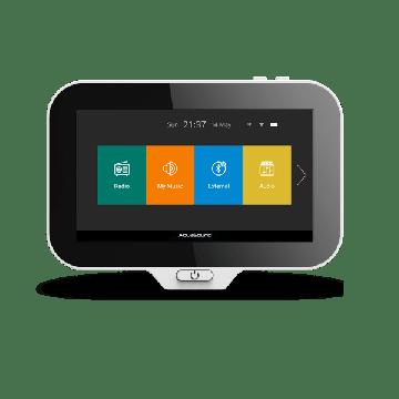AquaSound N-Joyˣ controller voor Music Center met lader en adapter, zwart