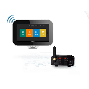 AquaSound N-Joy Music Center met controller, lader en Mini-Box 50W