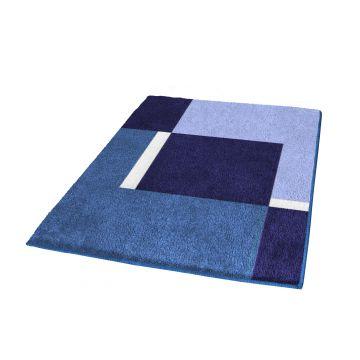 Kleine Wolke Dakota badmat b60xd90xh2 cm, navy blauw