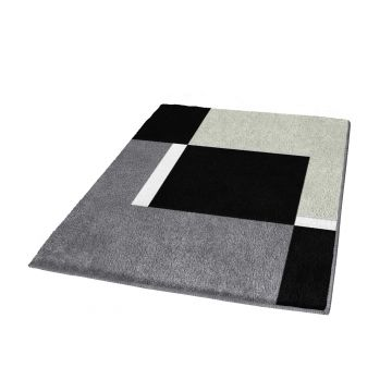 Kleine Wolke Dakota badmat b60xd90xh2 cm, platina