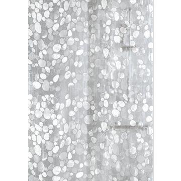 Kleine Wolke Cristal douchegordijn 180 cm breed, 200 cm hoog, grijs