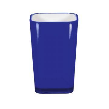 Kleine Wolke Easy tandenborstelbeker 7,2x11,1 cm, kobaltblauw