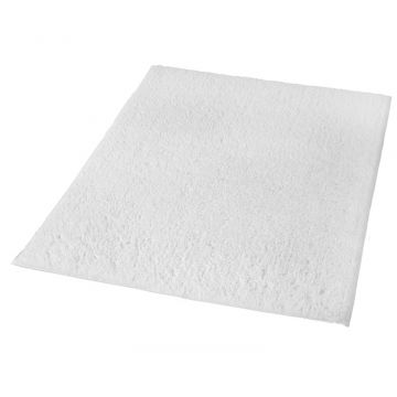 Kleine Wolke Kansas badmat b80xd140xh1,5 cm, wit
