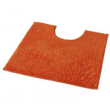 Kleine Wolke Kansas toiletmat b50xd50xh1,5 cm, oranje
