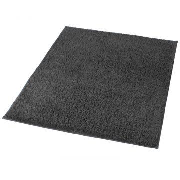 Kleine Wolke Kansas badmat b70xd120xh1,5 cm, leisteen