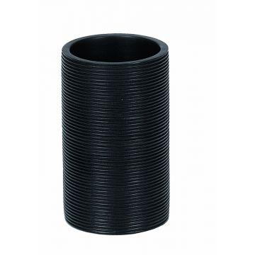 Kleine Wolke Kyoto tandenborstelbeker 11 6,6 cm, zwart