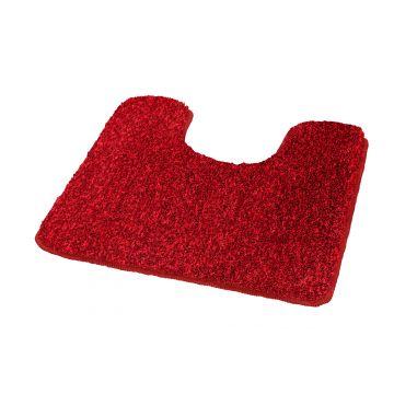 Kleine Wolke Relax toiletmat 55x55x3 cm, robijn rood