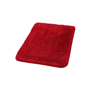 Kleine Wolke Relax badmat 70x120x3 cm, robijn rood