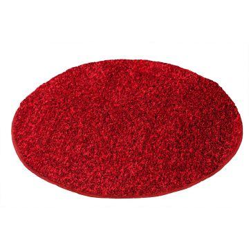 Kleine Wolke Relax badmat ø 60 cm, robijn rood