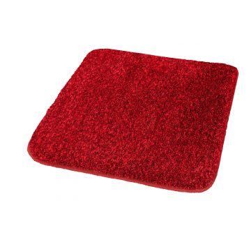 Kleine Wolke Relax badmat 55x65x3 cm, robijn rood