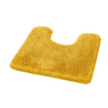 Kleine Wolke Relax toiletmat 55x55x3 cm, goudgeel