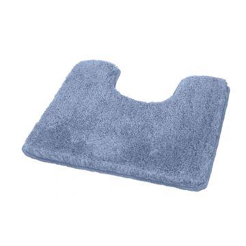 Kleine Wolke Relax toiletmat 55x55x3 cm, azuurblauw