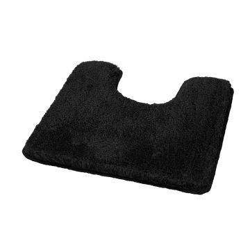 Kleine Wolke Relax toiletmat 55x55x3 cm, zwart