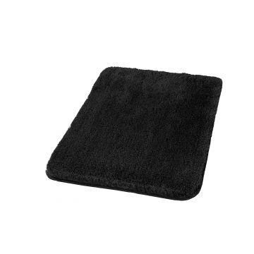 Kleine Wolke Relax badmat 70x120x3 cm, zwart