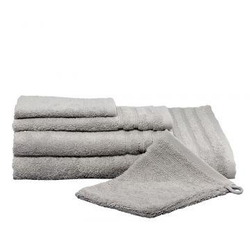 Kleine Wolke Royal handdoek 50x100 cm, zilvergrijs