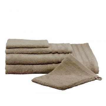 Kleine Wolke Royal handdoek 50x100 cm, basaltbruin