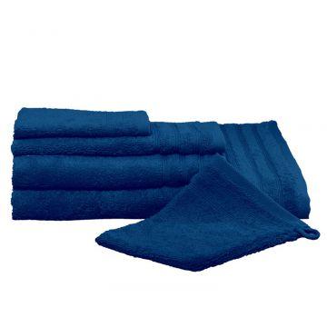 Kleine Wolke Royal gastendoek 30x50 cm, atlantisch blauw