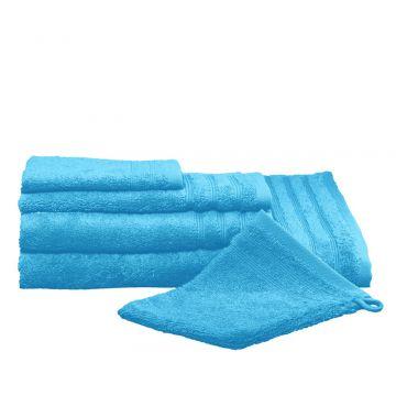 Kleine Wolke Royal handdoek 50x100 cm, turkoois