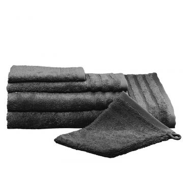Kleine Wolke Royal handdoek 50x100 cm, donkergrijs
