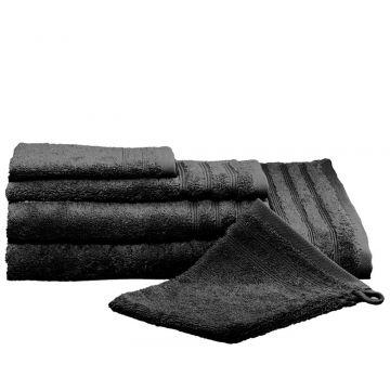 Kleine Wolke Royal badlaken 70x140 cm, zwart